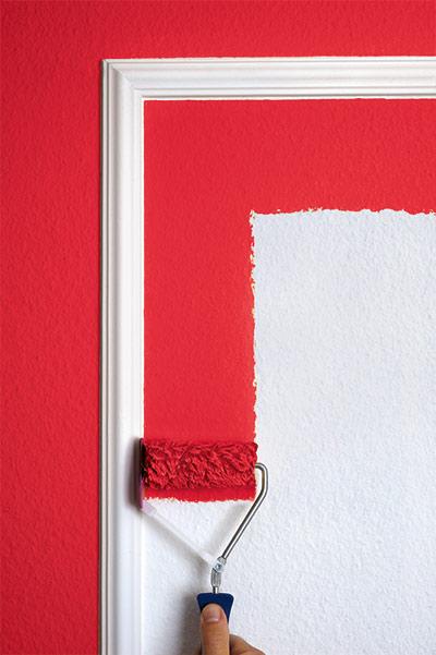 Sauberes Arbeiten an Holzrahmen z.B. an Fenstern und Türen